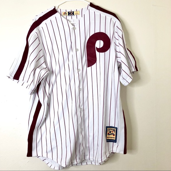1d607b17 Majestic Shirts   Cooperstown Phillies Jersey   Poshmark